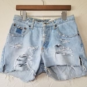 Cruel Girl Shorts - Vintage distressed high rise cut off shorts size 7